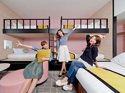 女子旅とUSJ!女子会におすすめのユニバ近くの人気ホテル